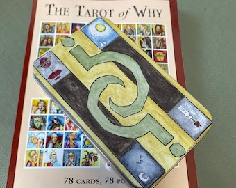 The Tarot of Why Deck and Tarot of Why Companion Book