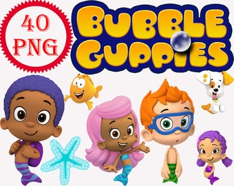 Bubble guppies | Etsy