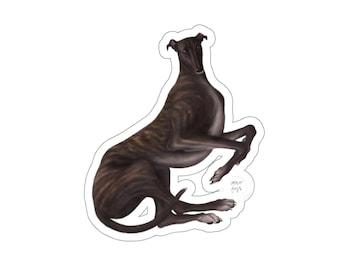 Greyhound Vinyl Sticker