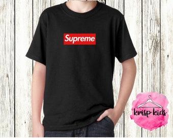 173612da9af40 Supreme t shirt   Etsy