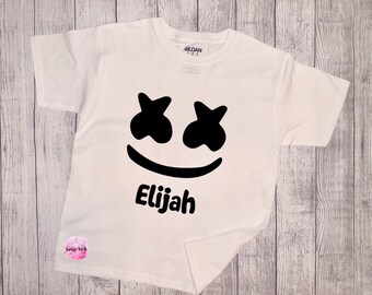 0d18dc0c9 Custom Personalized DJ Marshmello T-Shirt, Kids