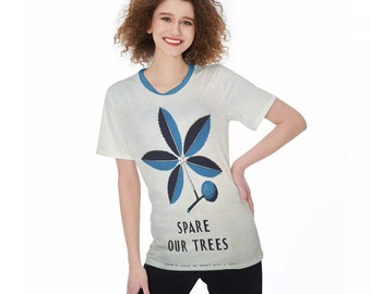 WPA Save Our Trees Women'S O-Neck T-Shirt