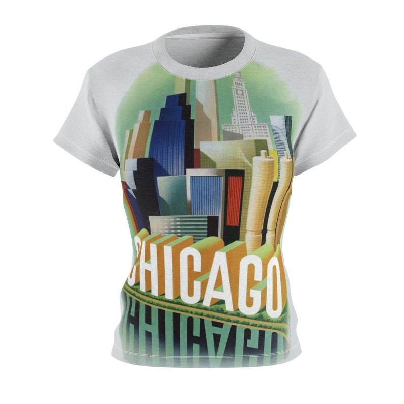 Chicago / Gift for Her / Women's / Tee T-Shirt Shirt / image 0