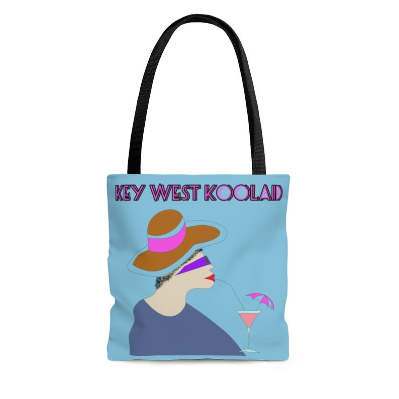 Key West Koolaid Tote Bag image 0