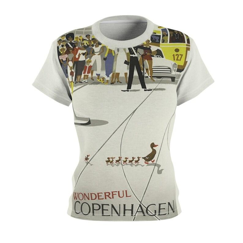 Tee Shirt /Copenhagen /Women /Denmark /T-shirt /Tee /Shirt image 0