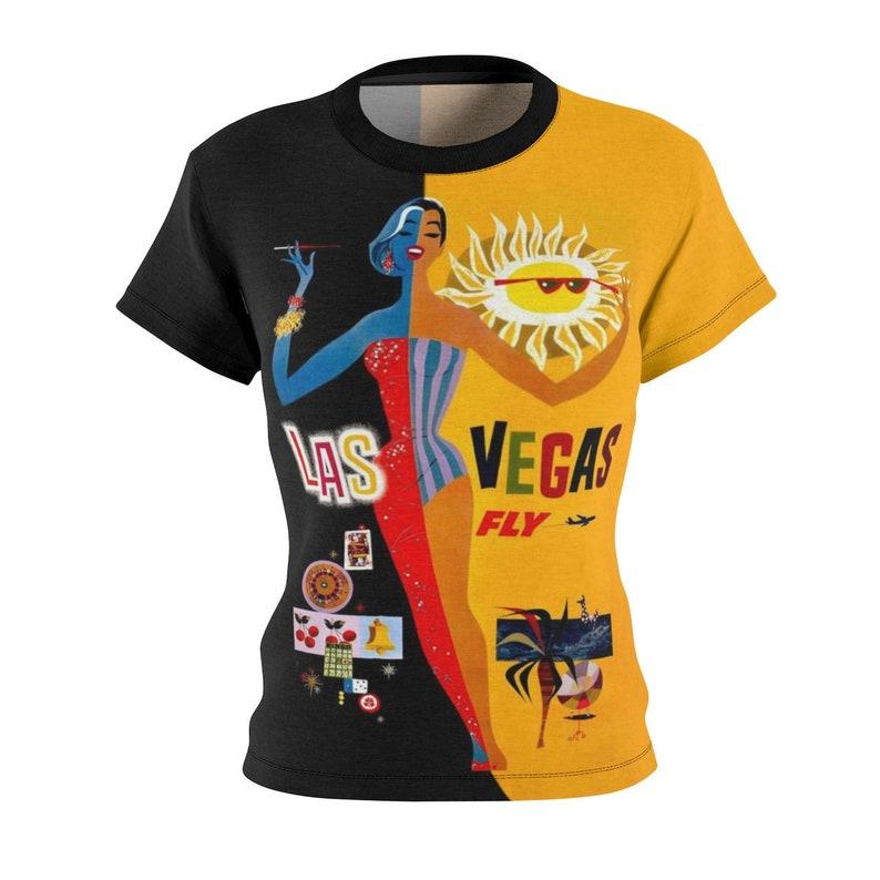 Tee Shirt /Vegas /Women /Travel /T-shirt /Tee /Shirt /Vintage image 0