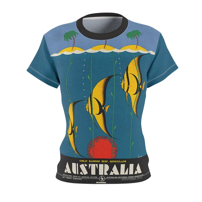 Tee Shirt /Australia /Women /Travel /T-shirt /Tee /Shirt image 0
