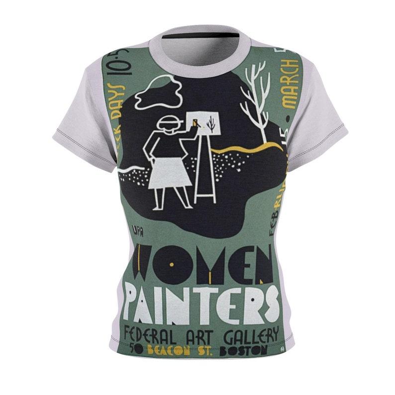 Great Gift / Artists / Women's / Tee T-Shirt Shirt / WPA / image 0