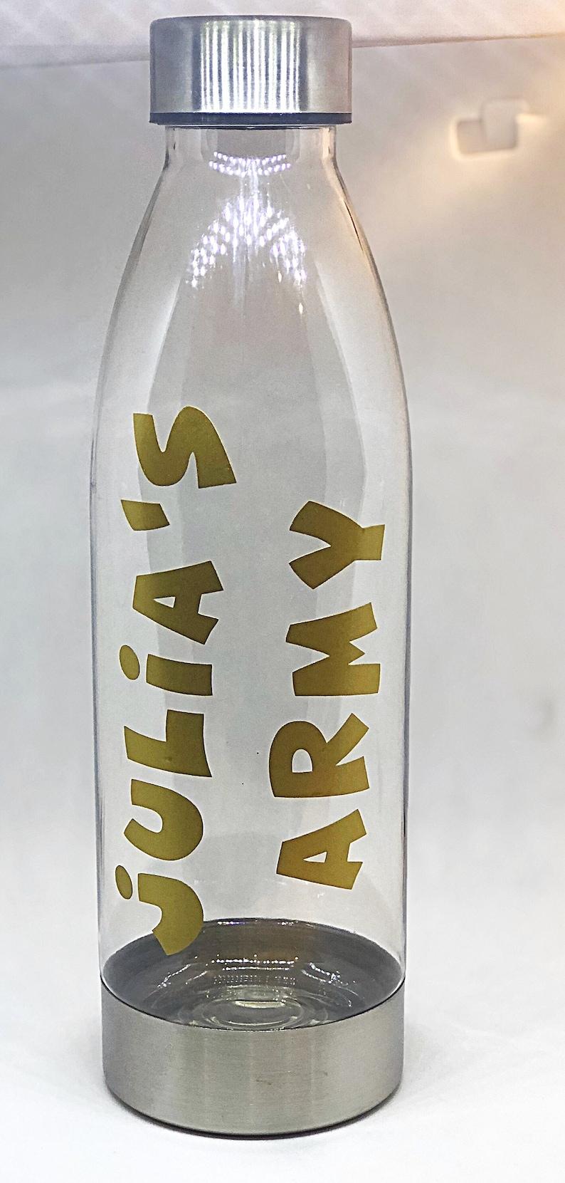 Julia's Army 22oz Water Bottle image 0