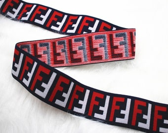 95f4fe1bf8c46 2   (5cm) Fashion Elastic Band Emblem Elastic Fashion Stretchy Ribbon