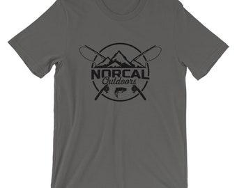 Norcal Outdoors Logo Short-Sleeve Unisex T-Shirt