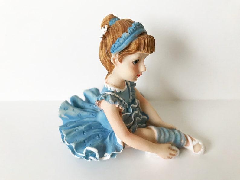Cake Topper Ballerina in Blue
