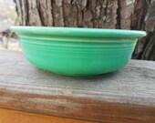 Fiestaware Dinnerware Vintage 5 1 2 inch Fruit berry nappy Bowl by Homer Laughlin original light green