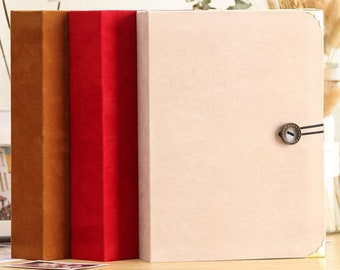 Holds 500 4x6 Photographs Red Co Black Faux Leather Family Photo Album with Embossed Borders