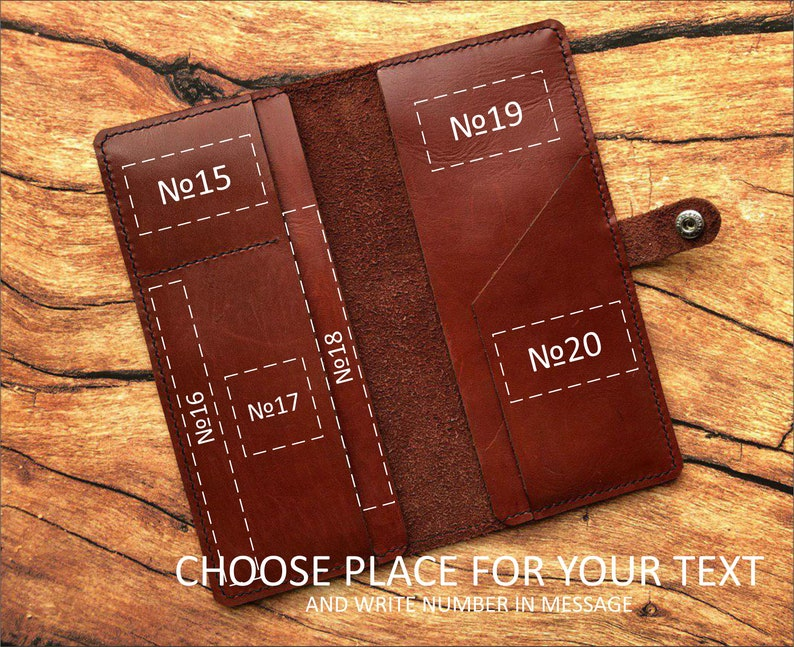 Middle Earth personalized passport holder Lord of the rings leather passport Cover gift Tolkien LOTR wallet Lonely Mountain The Hobbit