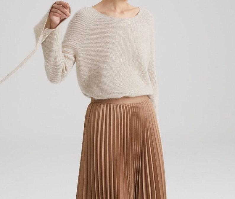 Kaschmir-Pullover-Damen-Fashion