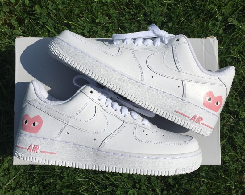 online store ce10c 3cd4a Custom NIKE Air Force 1 x CDG