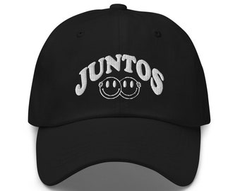 Juntos Cap, Stronger Together, Latinx Owned Shop, Unisex, One Size Fits All