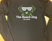 Long sleeve dry fit with Beach Dog logo