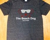 Beach Dog logo shirt-RWB