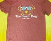 Beach Dog logo shirt-Tallahassee