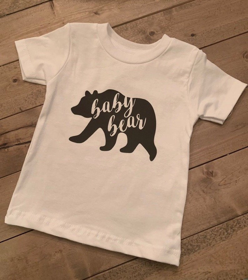 Rustic Baby Boy Baby Shower Gift Bear Onesie Baby Bear Onesie Baby Name Onesie Custom Onesie Newborn Coming Home