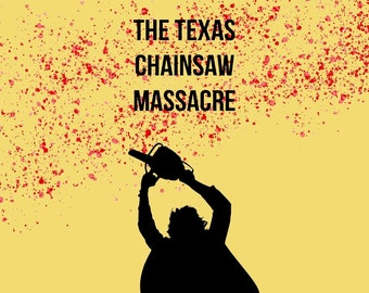 Leatherface poster   Etsy
