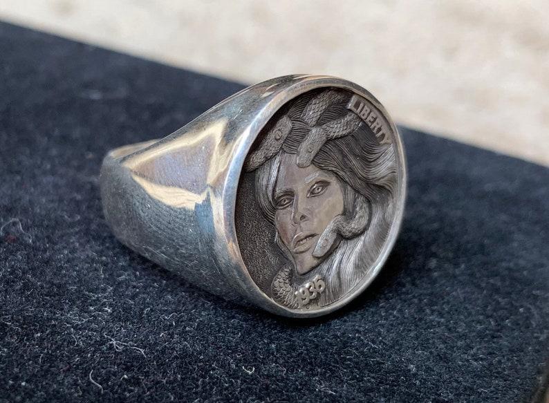 Hobo Nickel Ring