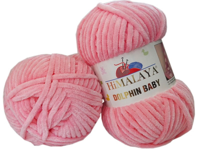 23 Skeins,Himalaya Dolphin Baby 100/% Softy Polyester Velvet Yarn Himalaya Yarn Knitting baby Baby Yarn Chenille,Baby Yarn Crochet Yarn