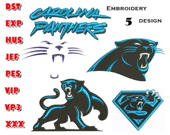 photograph relating to Carolina Panthers Printable Logo known as Panthers symbol Etsy