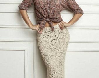 Sexy Crochet Skirt Etsy