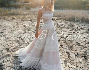 cb94549751b66 Bohemian gown | Etsy