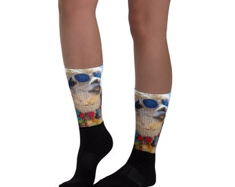 Jllaman Llama Socks.