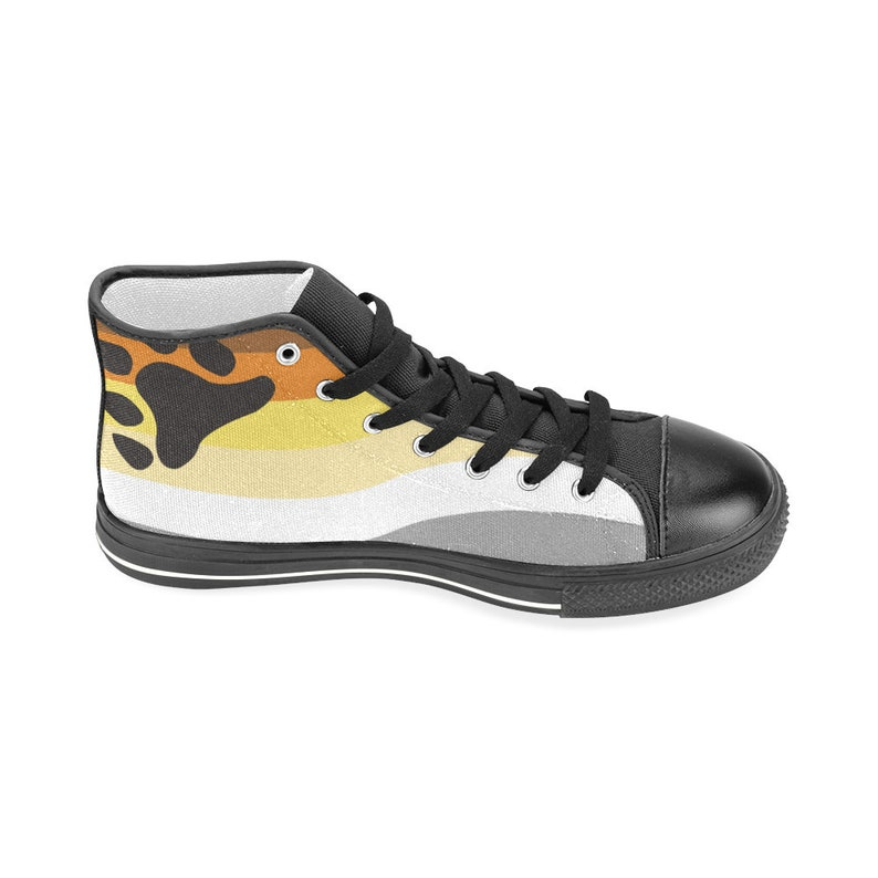 International Bear Brotherhood Flag Classic Unisex High-top Canvas Sneakers
