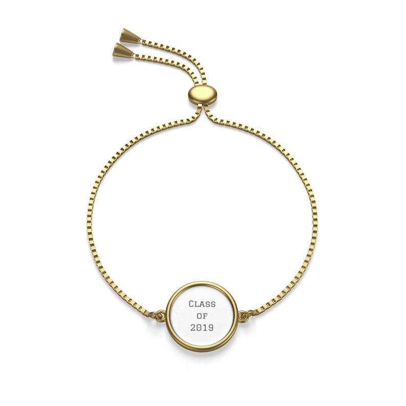 class of 2019 graduate jewelry gift custom bracelet