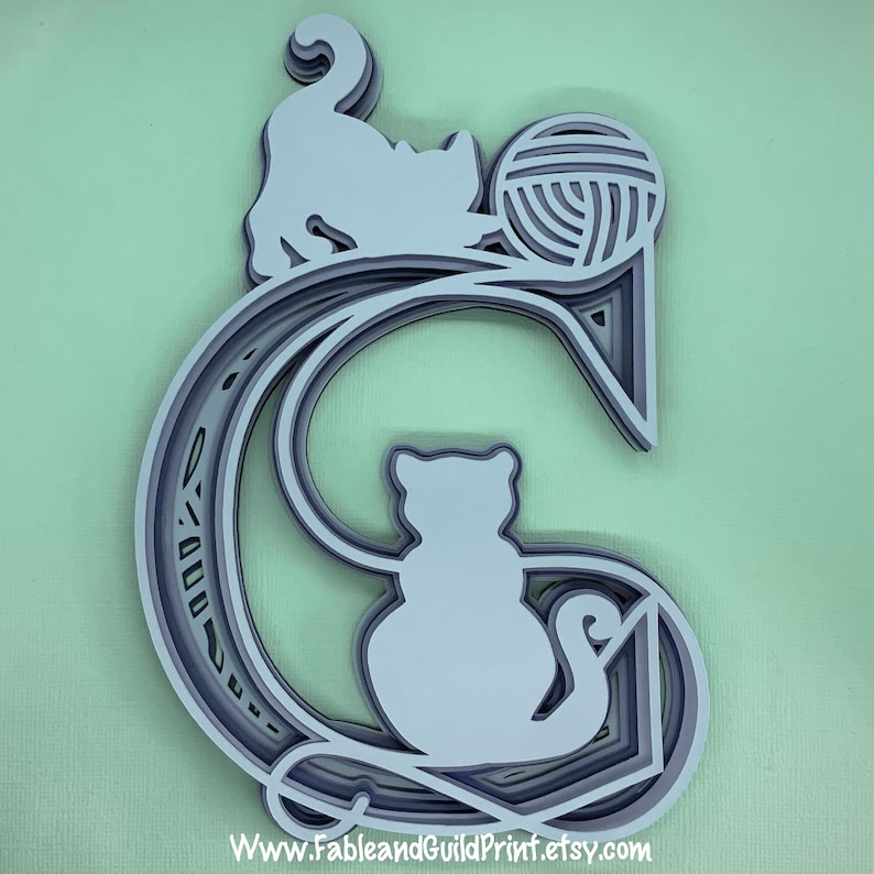 Download 3D Mandala SVG Cat Cricut Svg Cut File Cricut Multi layer ...