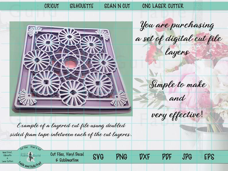 Download 3D Multi Layered Cricut Cut File Cricut SVG Marigold ...