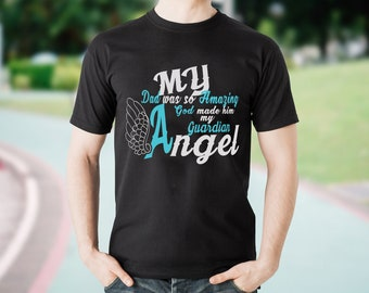 b8040f4d My dad was so amazing god made him my guardian angel svg png dxf eps  digital file