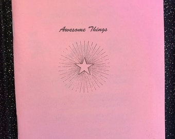 Awesome Things zine #1
