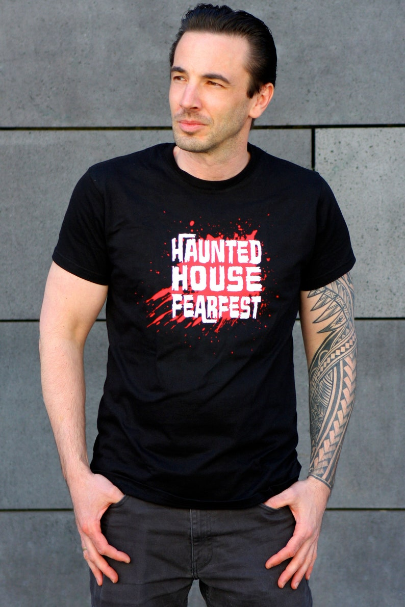 Haunted House Official Festival T-shirt image 0