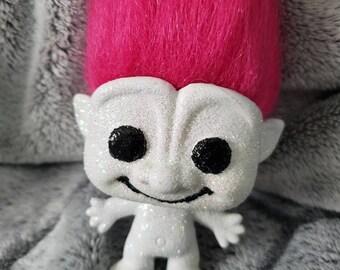 Sugar Skull Catrina decoration for dia de los muertos troll #7 sparkle troll
