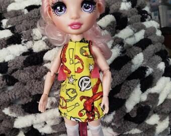 Rainbow High doll sun dress pattern