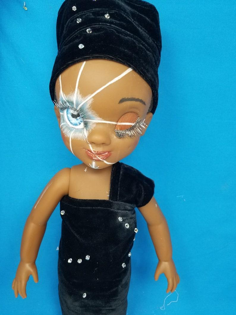 Upcycled DIsney Animator Doll 16 Tiana OOAK Polaris image 0