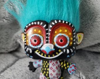 Sugar Skull Catrina decoration for dia de los muertos troll #8 The Alibrije