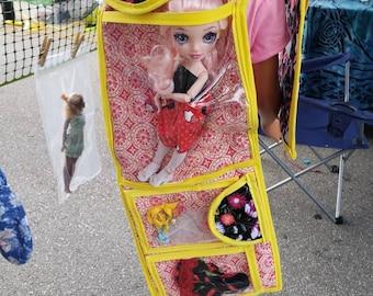 2ndlifedolls Barbie backpack and organizer