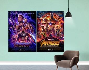 "22 Marvel Cinematic Universe Movie Poster 2008-2019 Art Film Print 24x36/"" 27x40/"""