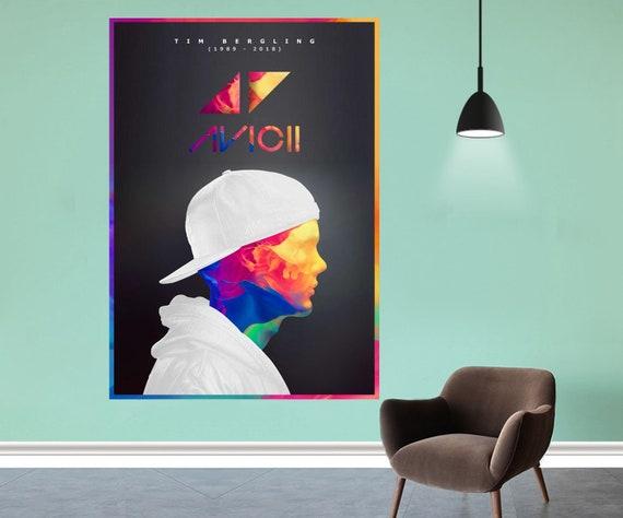 "Avicii Stories Swedish DJ Album Cover Poster Art Pirnt 12x12/"" 24x24/"" 32x32/"""
