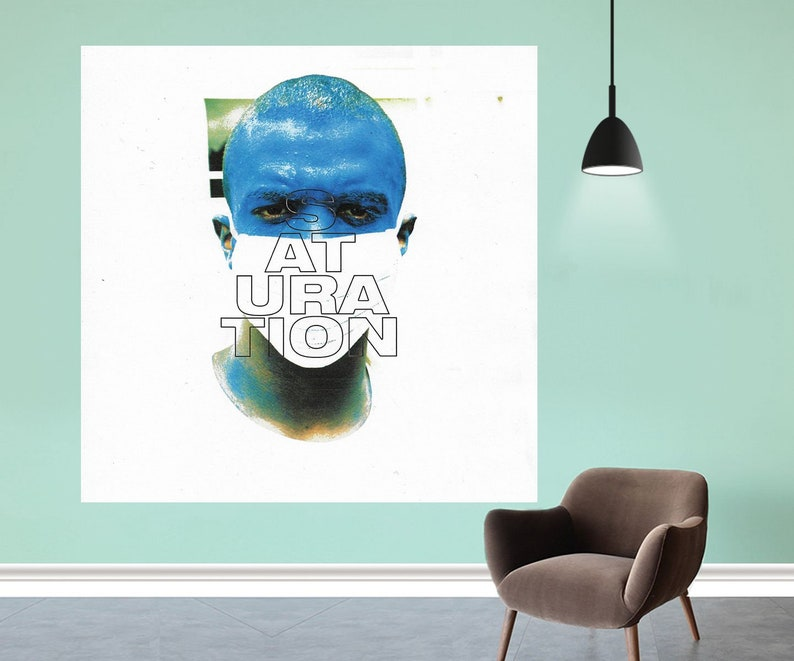 "Post Malone Stoney Album Poster Rapper Music Art Print 12x12/"" 24x24/"" 32x32"