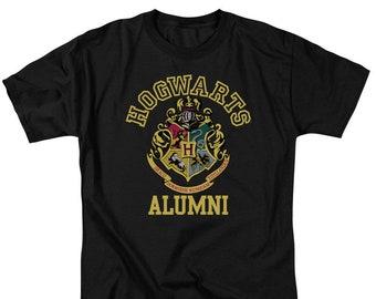 0154b2e5 Harry Potter Hogwarts Alumni Crest Shirt