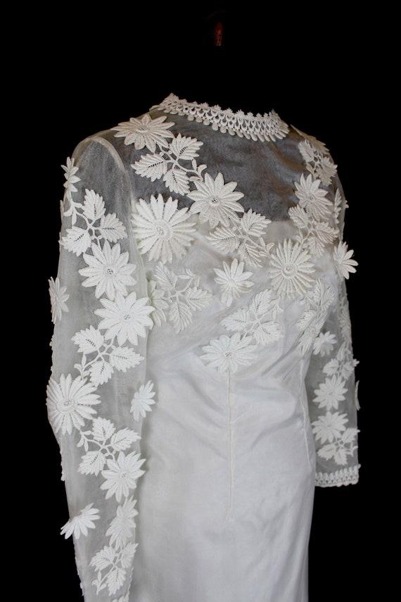 1960s Wedding Dresses.Vintage Wedding Dress Jean Paton Dress 1960s Wedding Dress